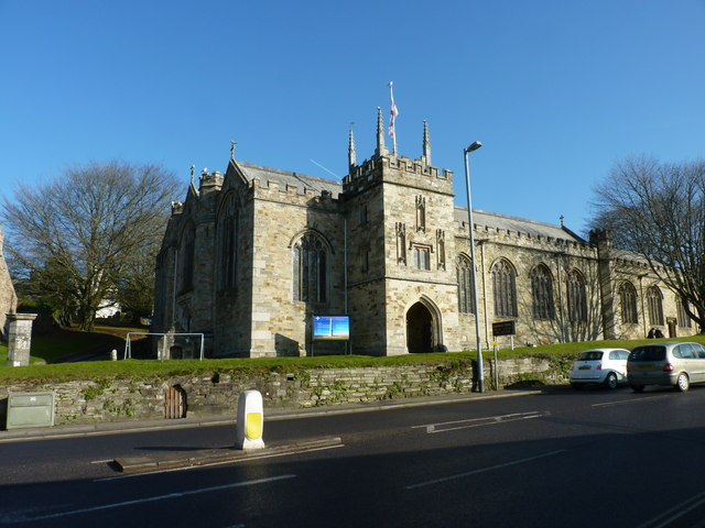 St Petroc's church, Bodmin