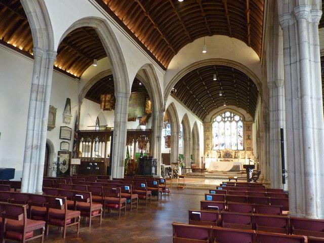 St Petroc's church, Bodmin - interior