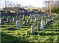 ST6658 : Timsbury burial ground by Neil Owen
