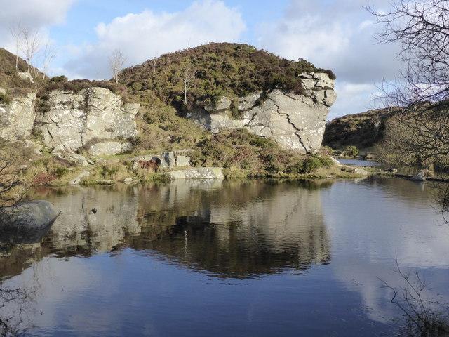 Granite Quarry Ireland Disused Granite Quarry Haytor