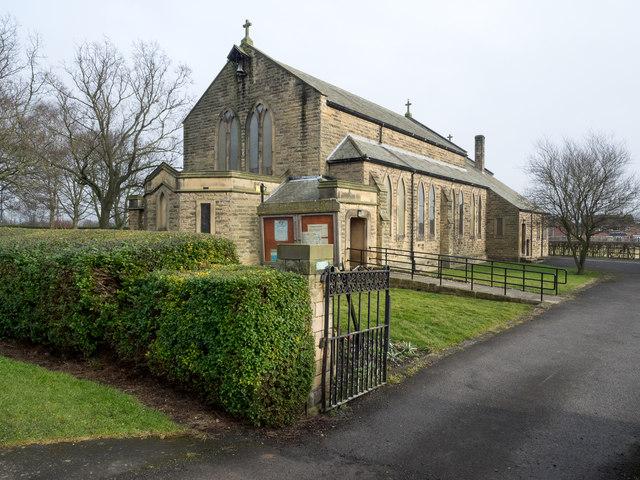 Church of St. Aiden, Chilton