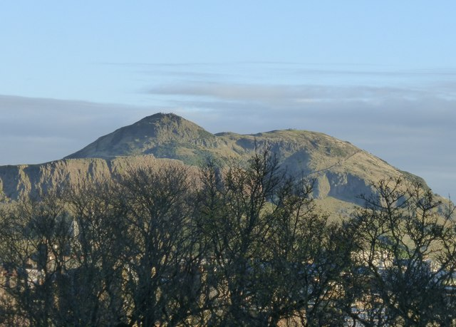 View of Arthur's Seat from Edinburgh Castle