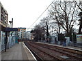 TQ3165 : Wandle Park tram stop by Malc McDonald