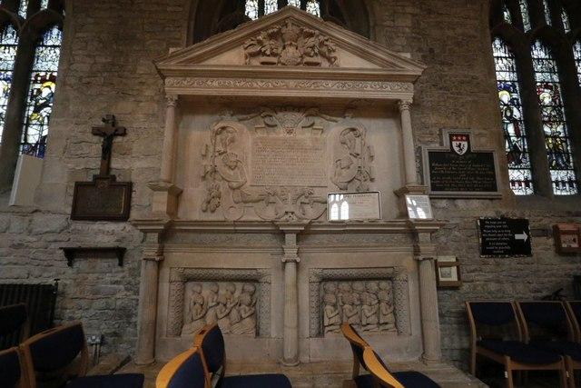 Memorial to Edmund Harman