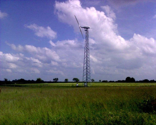 Wind turbine, Great Ellingham