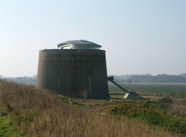 Modernised Martello Tower