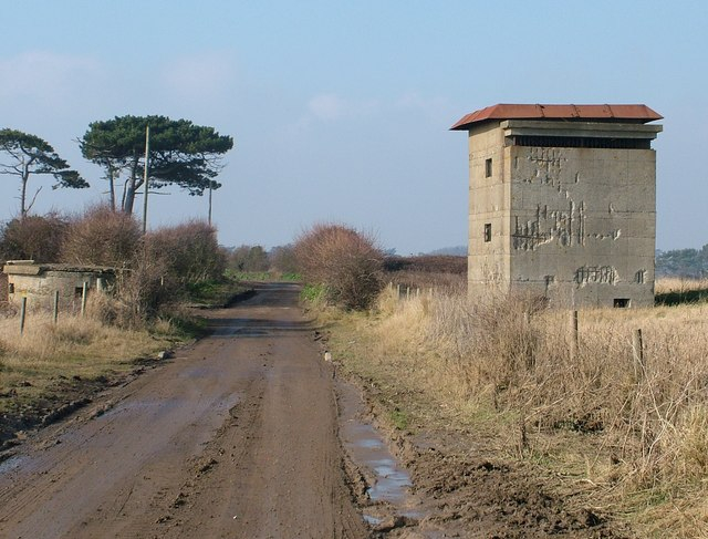 Gun control tower, East Lane, Bawdsey