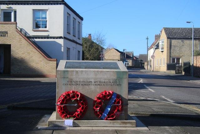 Soham Rail Disaster memorial