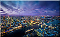 TQ3380 : View from the Shard by Liam Drew