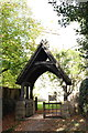 SP3725 : St Kenelm's Church lychgate by Roger Templeman