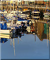 SC3875 : Early morning light in Douglas marina by Andy Stephenson