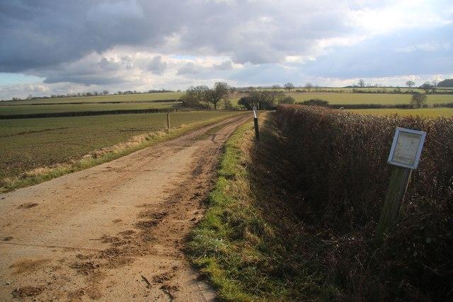 Permissive bridleway