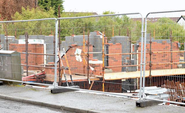 Holywood Road development site, Belfast - February 2015(2)