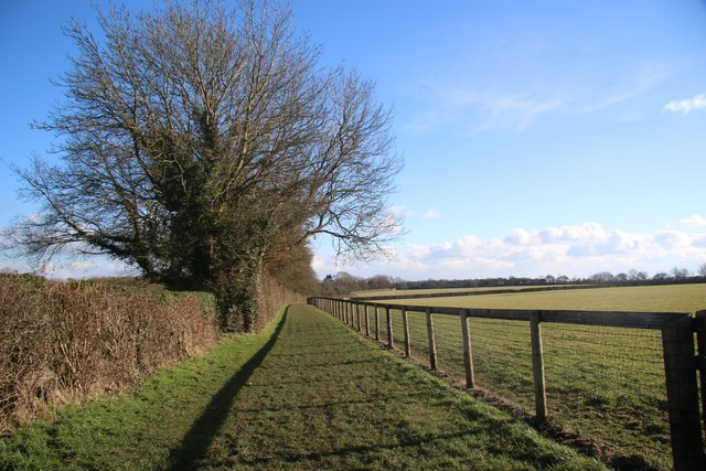 Footpath to Upend
