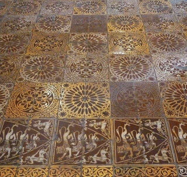 Temple Church Encaustic Tiles In 169 Rob Farrow Cc By
