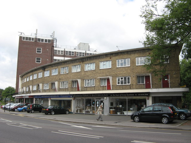 Shops and Flats on Croydon Road, Elmers End