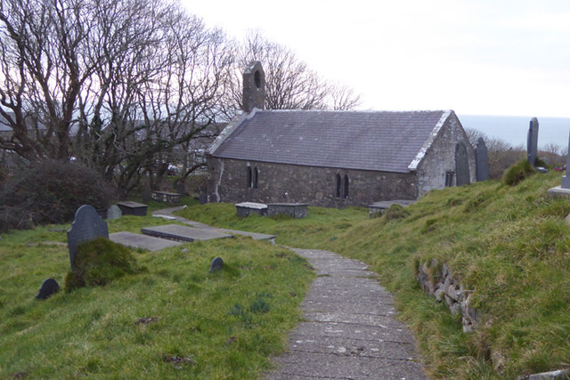Lleyn Coastal Path 026 - St. Beuno's Church