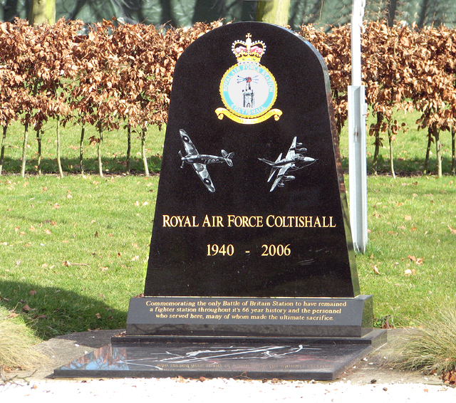 RAF Coltishall Memorial