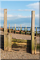SZ7897 : Groynes on East Wittering Beach by Ian Capper
