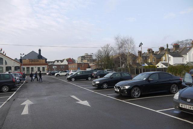 Canterbury Pound Lane Car Park Canterbury