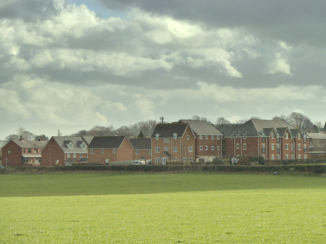 Houses on the site of the old Orrell Legion, Gathurst Road