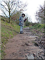 SJ4894 : Footpath from Hall Farm to Prescot Road by Gary Rogers