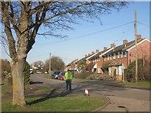 SP7409 : Churchway, Haddenham by Des Blenkinsopp