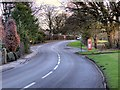 SJ8079 : Knutsford Road (B5085), Knolls Green by David Dixon