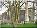 TM4290 : Beccles St. Michaels' church, west end by Adrian S Pye