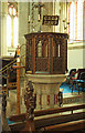 TL6370 : St Peter & St Mary Magdalene, Fordham - Pulpit by John Salmon