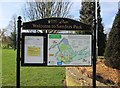 SO9570 : Information board at Sanders Park, Bromsgrove, Worcs by P L Chadwick