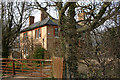 TL1381 : The Old Rectory, Steeple Gidding by David Kemp
