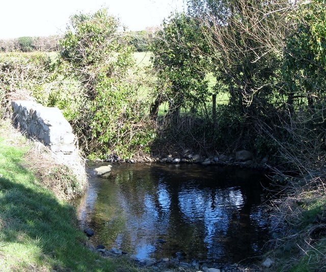 Tributary: A Tributary Of The Moneycarragh River At... © Eric Jones