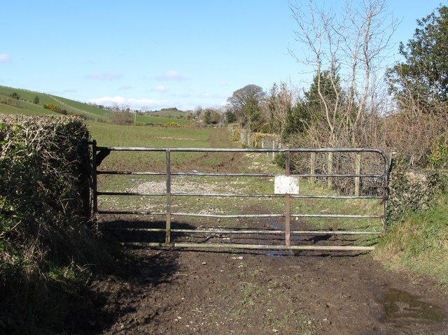 Field access gates leading from eric jones