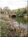 TR1234 : West Hythe Bridge, Royal Military Canal by Oast House Archive