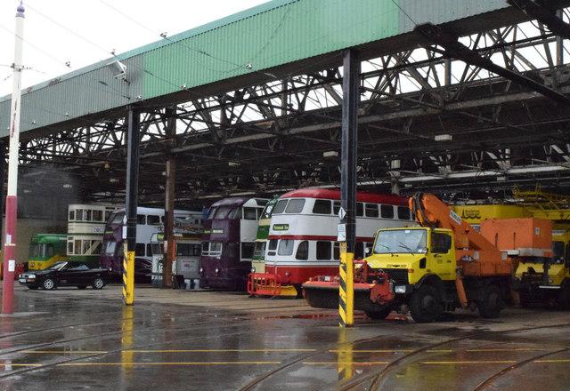 Rigby Road Tram Depot, 2015