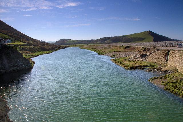 Upstream on the Ystwyth