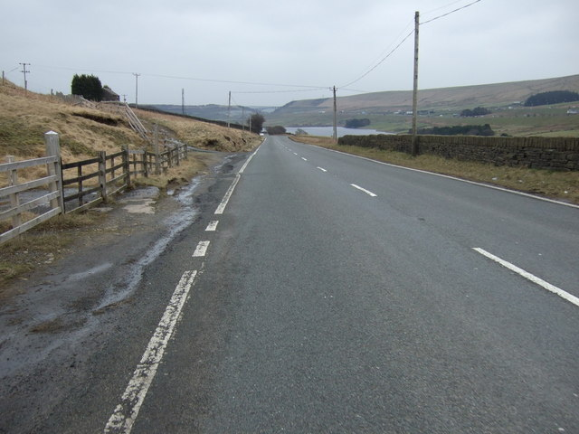 A672 road