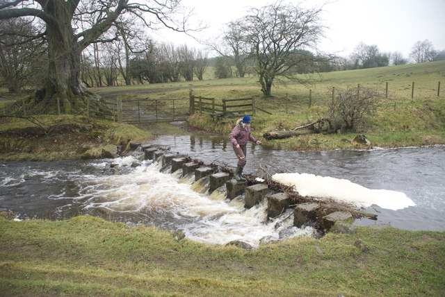 Ford and Stepping Stones at Wolsingham