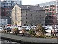 SJ8498 : Rochdale Canal Warehouse by Chris Allen