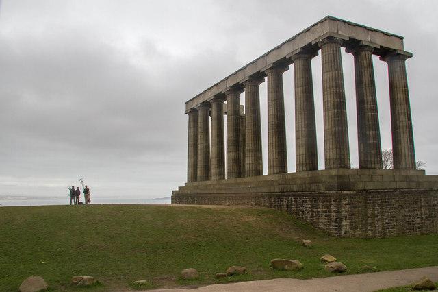 Monumental imbalance, Calton Hill