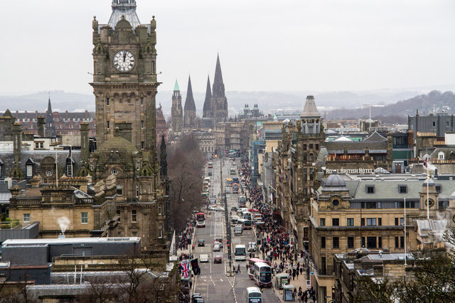 Hard to ignore Princes Street