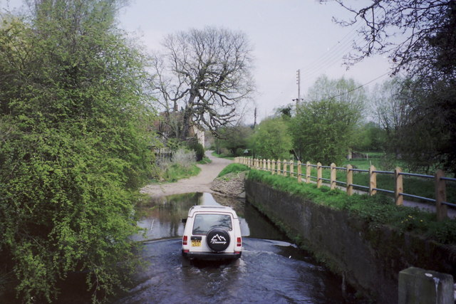 Standon Ford in use, seen from the West.