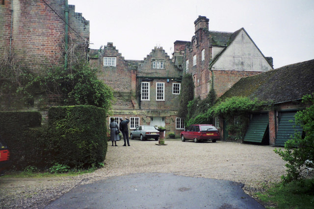 Furneux Pelham Hall - view from the North