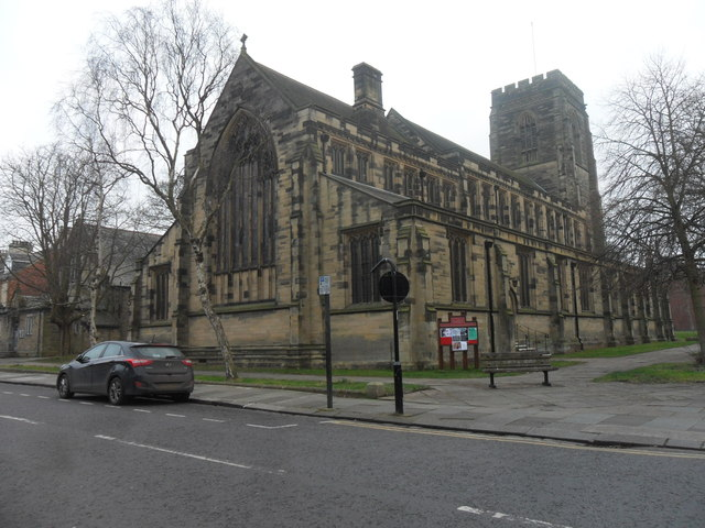 All Saints Church,  Gosforth