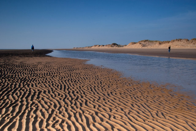 Ripples in the sand, Formby