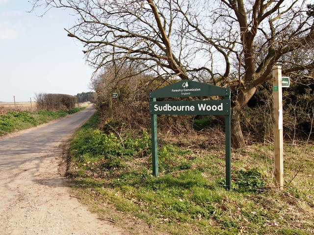 Sudbourne Wood sign