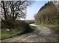 SX2292 : Farm lane to Witheven by Derek Harper