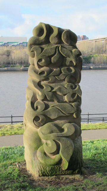 Foliate Forms, Gateshead Riverside Park