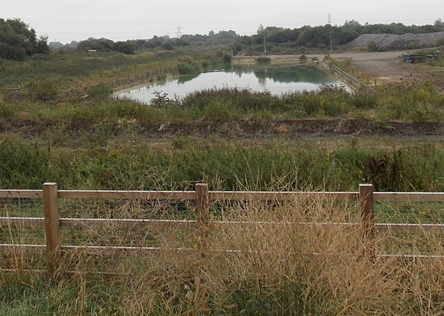 Rectangular Pond South Of The A4810 Jaggery Geograph Britain And Ireland